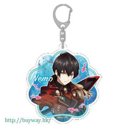 白貓Project 「ネモ」深淵の追撃者 亞克力 匙扣 Shinen no Tsuigekisha Acrylic Key Chain Nemo【Shironeko Project】