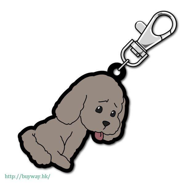 勇利!!! on ICE 「Makkachin」可愛抱膝 橡膠掛飾 Bocchi-kun Rubber Mascot Makkachin【Yuri on Ice】