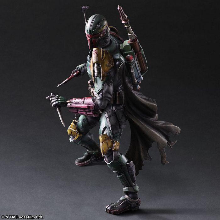 StarWars 星球大戰 PlayArts-改- 波巴·費特 Variant Play Arts Kai Boba Fett【Star Wars】