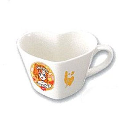 LoveLive! 明星學生妹 一番賞 Kyun-Kyun Sensation!L 賞 高坂穗乃果 心心杯 Ichiban Kuji Kyun-Kyun Sensation! Prize L Heart Shaped Mug Kosaka Honoka【Love Live! School Idol Project】