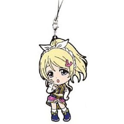 LoveLive! 明星學生妹 一番賞 Kyun-Kyun Sensation!M 賞 絢瀨繪里 掛飾 Ichiban Kuji Kyun-Kyun Sensation! Prize M Rubber Strap Ayase Eli【Love Live! School Idol Project】
