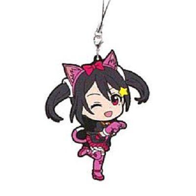 LoveLive! 明星學生妹 一番賞 Kyun-Kyun Sensation!M 賞 矢澤妮可 掛飾 Ichiban Kuji Kyun-Kyun Sensation! Prize M Rubber Strap Yazawa Nico【Love Live! School Idol Project】