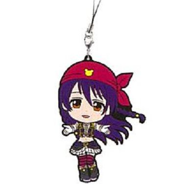 LoveLive! 明星學生妹 一番賞 Kyun-Kyun Sensation!M 賞 園田海未 掛飾 Ichiban Kuji Kyun-Kyun Sensation! Prize M Rubber Strap Sonoda Umi【Love Live! School Idol Project】