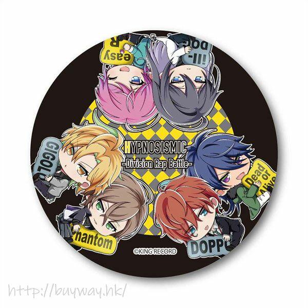 Hypnosismic -Division Rap Battle- 「澀谷 + 新宿」抱著 MC 名牌 徽章 GyuGyutto Can Badge Pair Pattern Ver. Shinjuku & Shibuya【Hypnosismic】