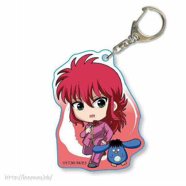 幽遊白書 「蔵馬」てくトコ系列 亞克力匙扣 TEKUTOKO Acrylic Key Chain Kurama【YuYu Hakusho】