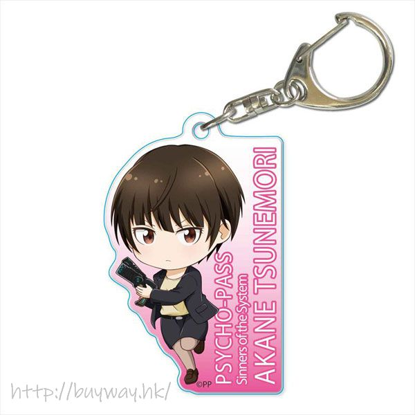 PSYCHO-PASS 心靈判官 「常守朱」亞克力匙扣 TEKUTOKO Acrylic Key Chain Tsunemori Akane【Psycho-Pass】