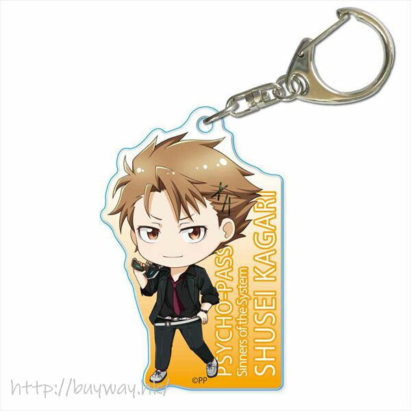 PSYCHO-PASS 心靈判官 「縢秀星」亞克力匙扣 TEKUTOKO Acrylic Key Chain Kagari Shusei【Psycho-Pass】