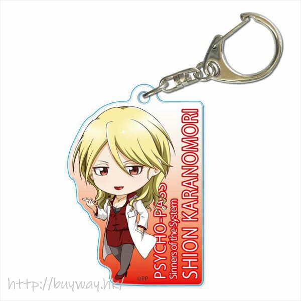 PSYCHO-PASS 心靈判官 「唐之杜志恩」亞克力匙扣 TEKUTOKO Acrylic Key Chain Karanomori Shion【Psycho-Pass】