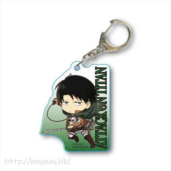 進擊的巨人 「里維」立體機動 亞克力匙扣 TEKUTOKO Acrylic Key Chain Levi 3D Manever Gear【Attack on Titan】