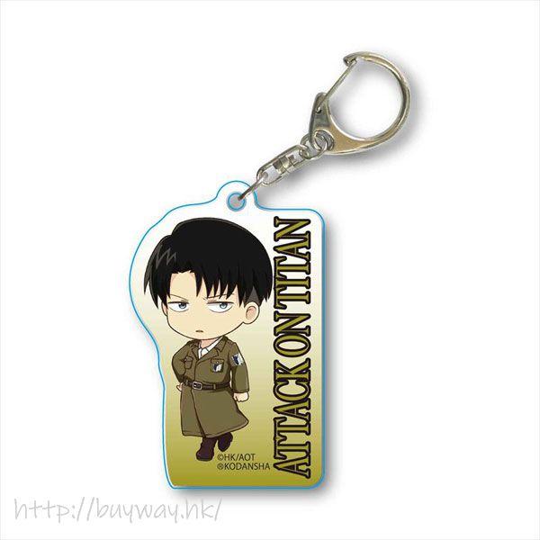 進擊的巨人 「里維」大衣 亞克力匙扣 TEKUTOKO Acrylic Key Chain Levi Coat【Attack on Titan】