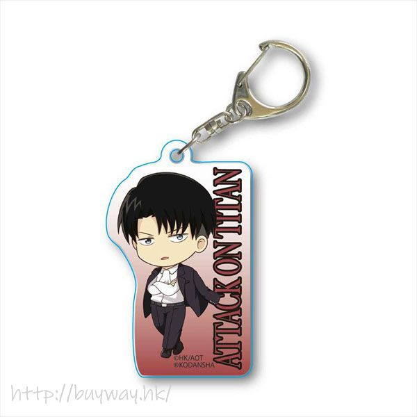 進擊的巨人 「里維」西裝 亞克力匙扣 TEKUTOKO Acrylic Key Chain Levi Suit【Attack on Titan】