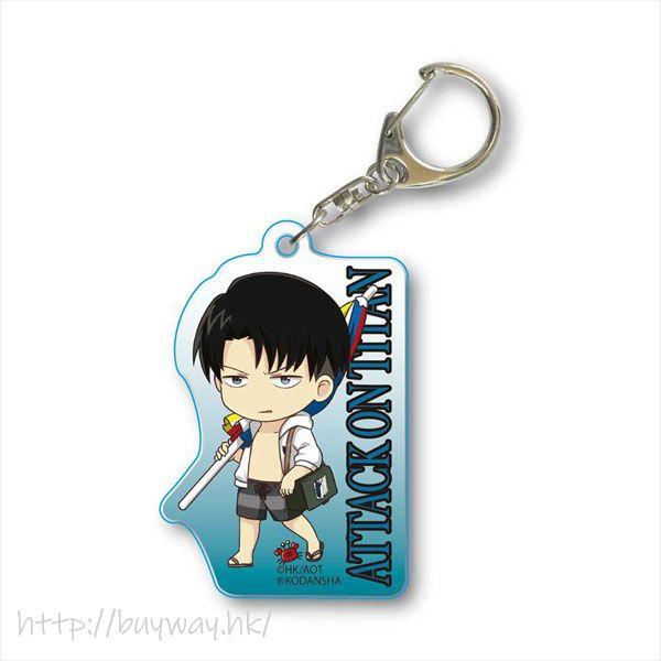 進擊的巨人 「里維」水著 亞克力匙扣 TEKUTOKO Acrylic Key Chain Levi Swimwear【Attack on Titan】