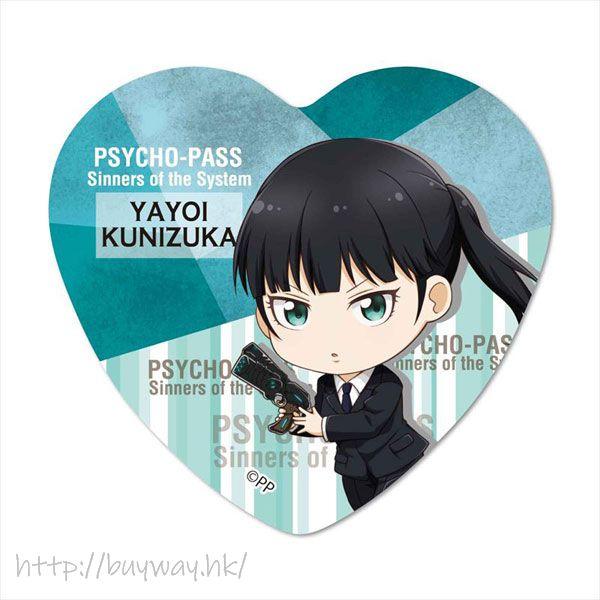 PSYCHO-PASS 心靈判官 「六合塚彌生」心形徽章 TEKUTOKO Heart Can Badge Kinizuka Yayoi【Psycho-Pass】