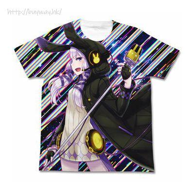 VOCALOID 系列 (加大)「結月緣」凛 白色 T-Shirt Yuzuki Yukari - Rin Full Graphic T-Shirt /WHITE- XL【VOCALOID Series】