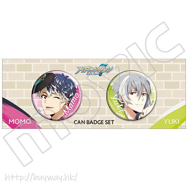 IDOLiSH7 「百 + 千」收藏徽章 (2 個入) Can Badge Momo + Yuki (2 Pieces)【IDOLiSH7】
