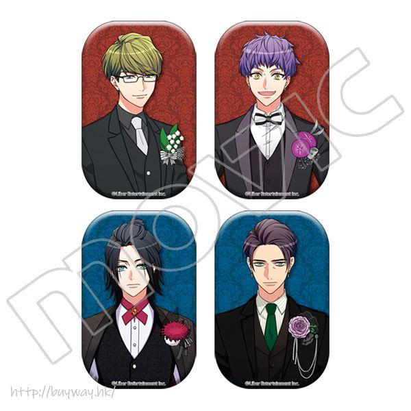 A3! 收藏徽章 club MANKAI (4 個入) Can Badge club MANKAI (4 Pieces)【A3!】