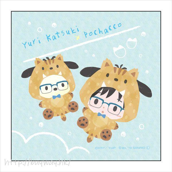勇利!!! on ICE 「勝生勇利 + PC狗」野豬 Ver. 小手帕 Sanrio Characters Microfiber Boar Ver. B【Yuri on Ice】