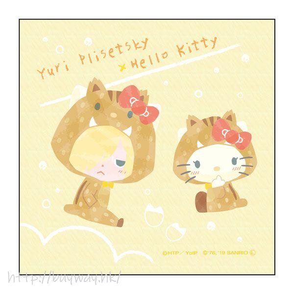 勇利!!! on ICE 「尤里 + Hello Kitty」野豬 Ver. 小手帕 Sanrio Characters Microfiber Boar Ver. D【Yuri on Ice】