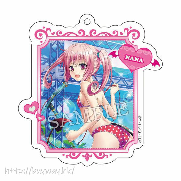 出包王女 Darkness 「娜娜」亞克力匙扣 Acrylic Key Chain 7 Nana Astar Deviluke【To Love-Ru Darkness】