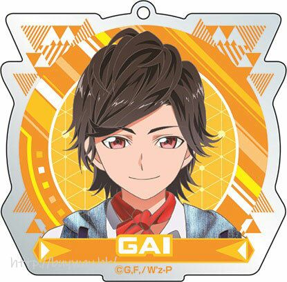 W'z 「岸和田凱」亞克力 匙扣 Acrylic Keychain (4) Gai【W'z】