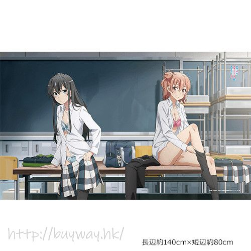 果然我的青春戀愛喜劇搞錯了。 「雪之下雪乃 + 由比濱結衣」毯子 Blanket Yukino & Yui【My youth romantic comedy is wrong as I expected.】
