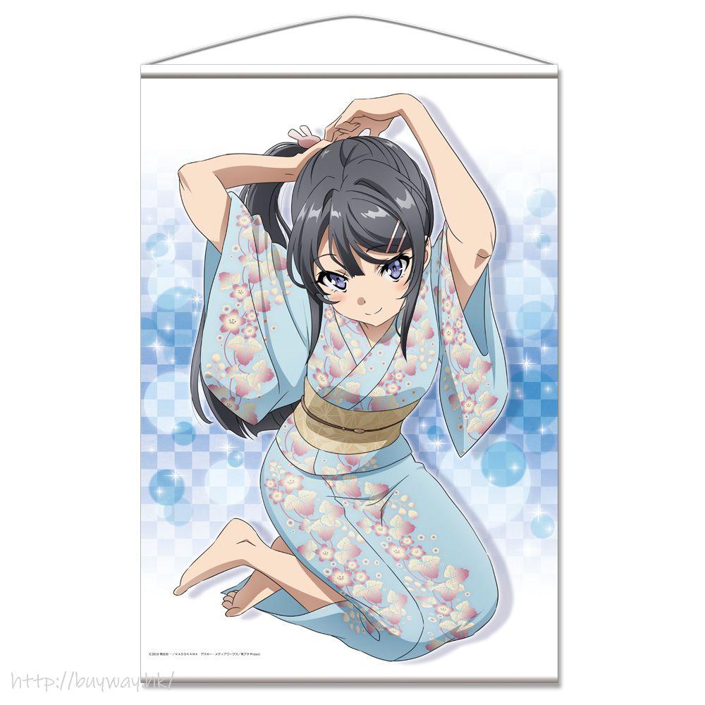 青春豬頭少年系列 「櫻島麻衣」B2 掛布 B2 Tapestry D Sakurajima Mai【Seishun Buta Yaro】