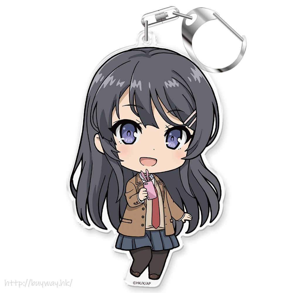 青春豬頭少年系列 「櫻島麻衣」校服 匙扣 Puni Colle! Key Chain Sakurajima Mai School Uniform Ver.【Seishun Buta Yaro】