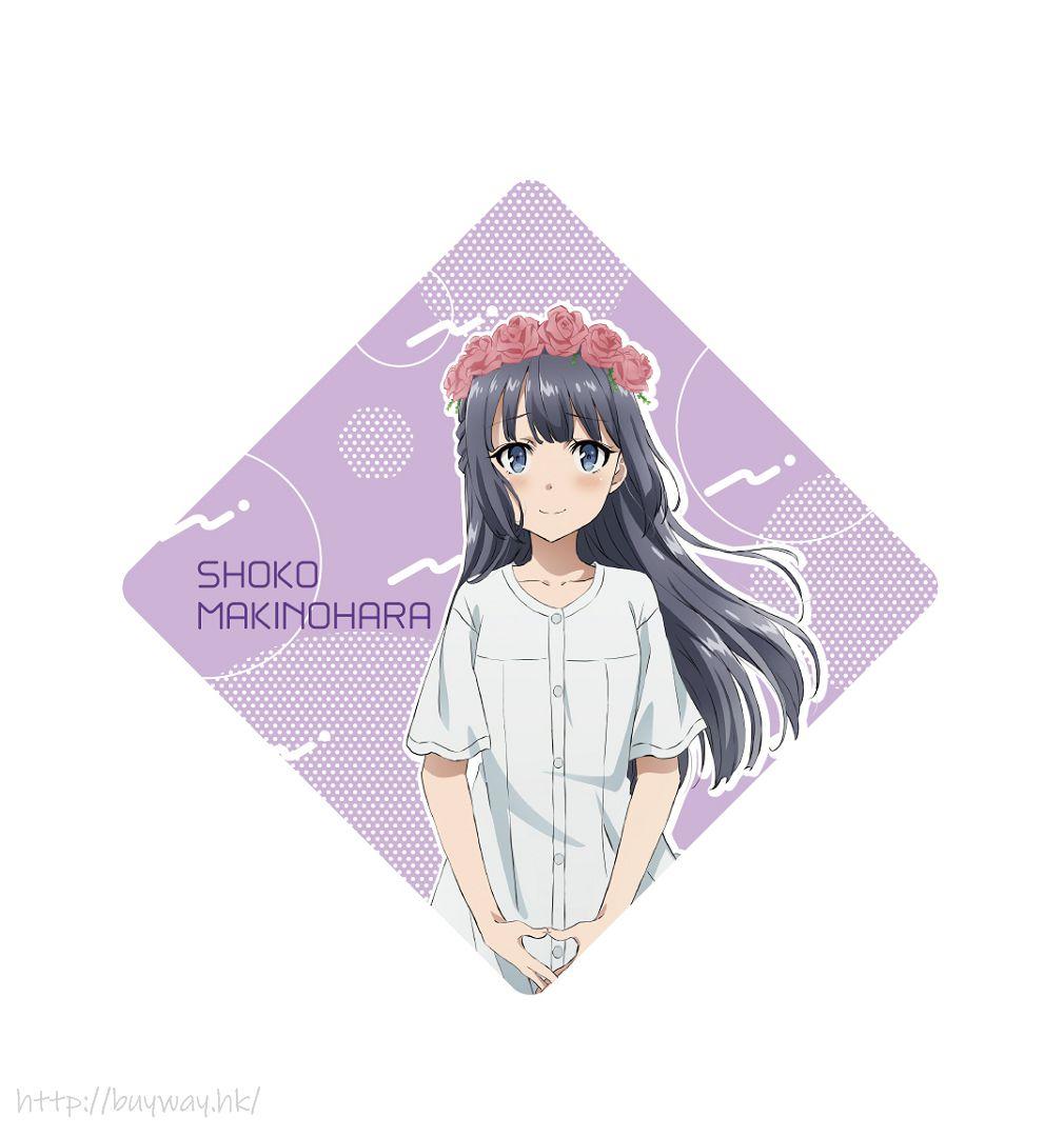 青春豬頭少年系列 「牧之原翔子」Cushion 匙扣 Cushion Key Chain Makinohara Shoko【Seishun Buta Yaro】