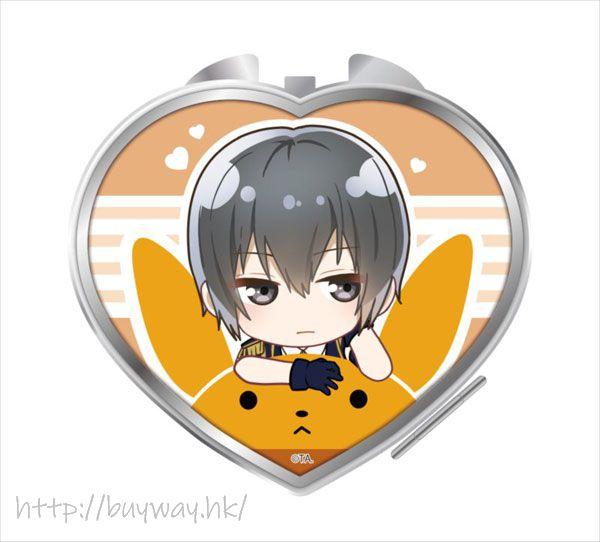 月歌。 「卯月新」騎著月兔 心形鏡子 Notty Series Compact Mirror Uduki Arata【Tsukiuta.】