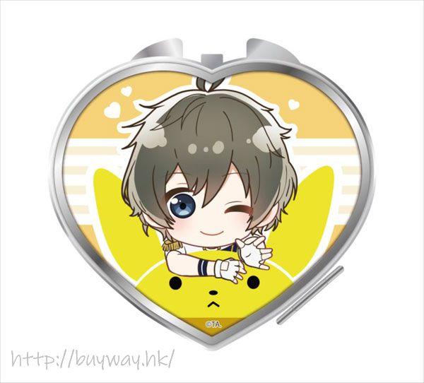 月歌。 「長月夜」騎著月兔 心形鏡子 Notty Series Compact Mirror Nagatsuki Yoru【Tsukiuta.】