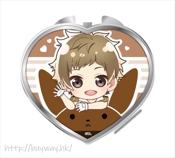 月歌。 「神無月郁」騎著月兔 心形鏡子 Notty Series Compact Mirror Kannaduki Iku【Tsukiuta.】