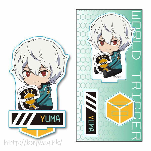 境界觸發者 「空閒遊真」亞克力企牌 GyuGyutto Acrylic Figure Kuga Yuma【World Trigger】