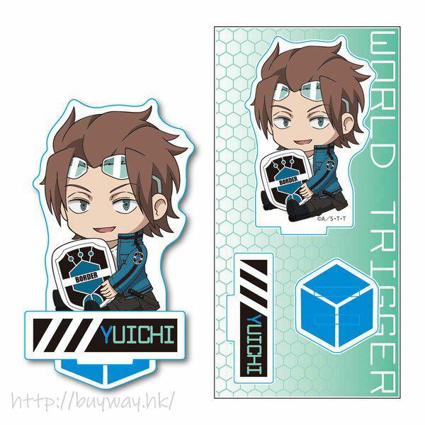 境界觸發者 「迅悠一」亞克力企牌 GyuGyutto Acrylic Figure Jin Yuichi【World Trigger】