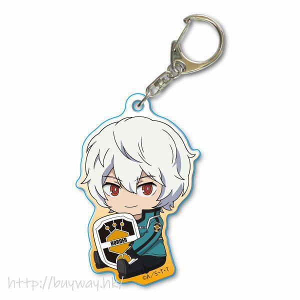 境界觸發者 「空閒遊真」亞克力匙扣 GyuGyutto Acrylic Key Chain Kuga Yuma【World Trigger】
