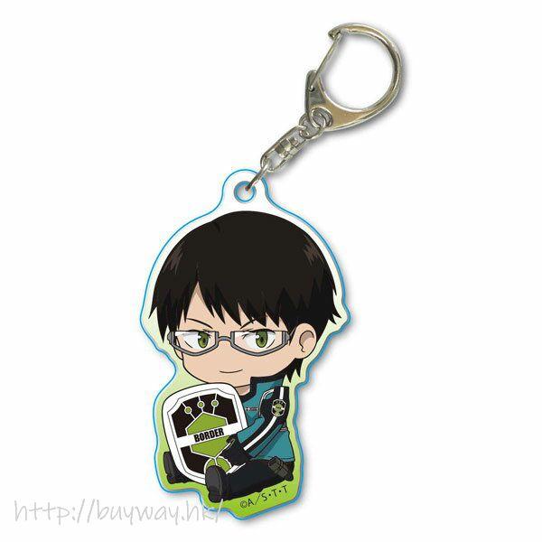 境界觸發者 「三雲修」亞克力匙扣 GyuGyutto Acrylic Key Chain Mikumo Osamu【World Trigger】