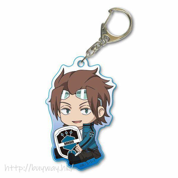 境界觸發者 「迅悠一」亞克力匙扣 GyuGyutto Acrylic Key Chain Jin Yuichi【World Trigger】