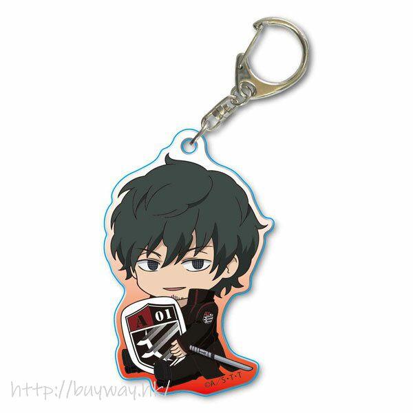 境界觸發者 「太刀川慶」亞克力匙扣 GyuGyutto Acrylic Key Chain Tachikawa Kei【World Trigger】
