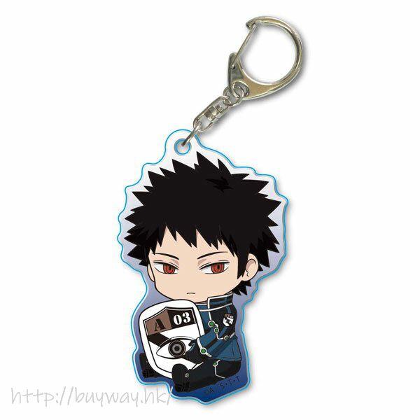 境界觸發者 「風間蒼也」亞克力匙扣 GyuGyutto Acrylic Key Chain Kazama Soya【World Trigger】