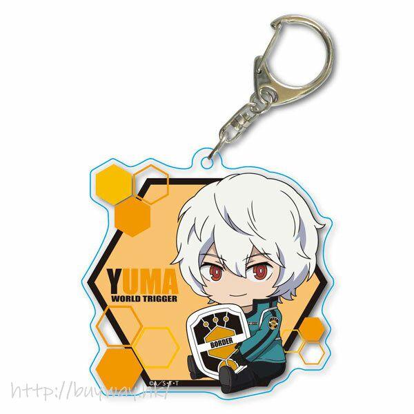境界觸發者 「空閒遊真」Deka 亞克力匙扣 GyuGyutto Choi Deka Acrylic Key Chain Kuga Yuma【World Trigger】