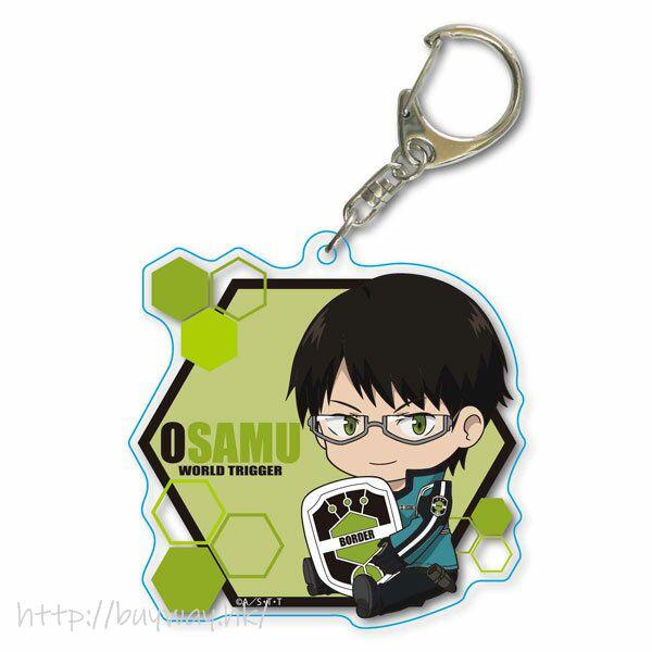 境界觸發者 「三雲修」Deka 亞克力匙扣 GyuGyutto Choi Deka Acrylic Key Chain Mikumo Osamu【World Trigger】