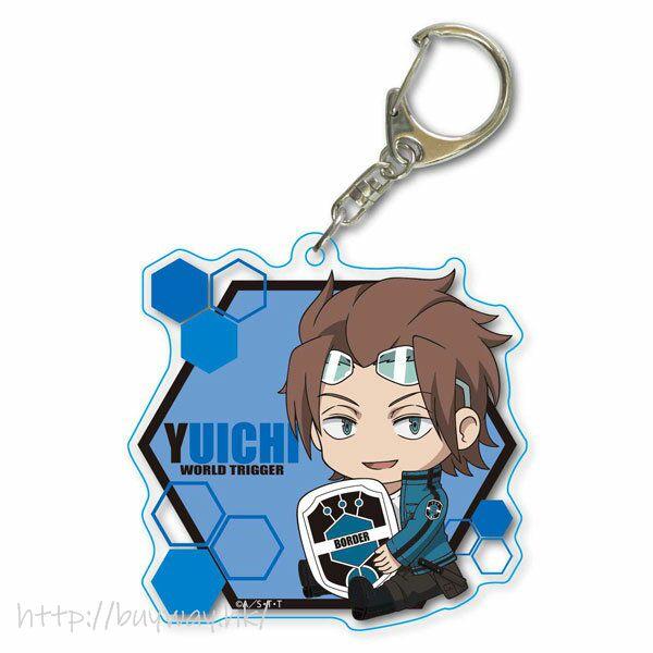 境界觸發者 「迅悠一」Deka 亞克力匙扣 GyuGyutto Choi Deka Acrylic Key Chain Jin Yuichi【World Trigger】
