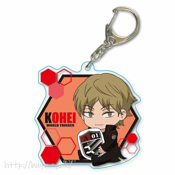 境界觸發者 「出水公平」Deka 亞克力匙扣 GyuGyutto Choi Deka Acrylic Key Chain Izumi Kohei【World Trigger】