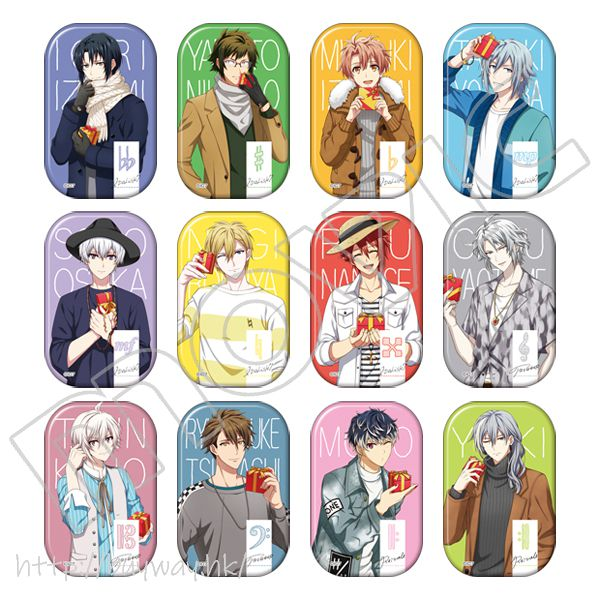 IDOLiSH7 圓角徽章 ~SONGS GIFT SR Ver.~ (12 個入) Marukaku Can Badge Collection -12 SONGS GIFT Ver.- (12 Pieces)【IDOLiSH7】