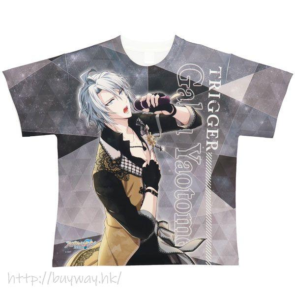 IDOLiSH7 (大碼)「八乙女樂」全彩 T-Shirt Full Graphic T-Shirt H Gaku L Size【IDOLiSH7】