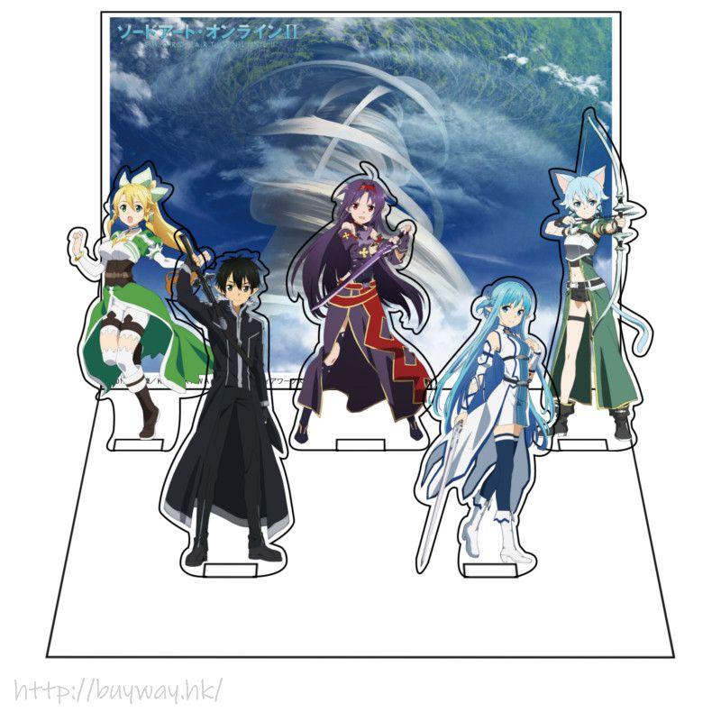 刀劍神域系列 「Type B」亞克力佈景企牌 Diorama Stand Type B【Sword Art Online Series】