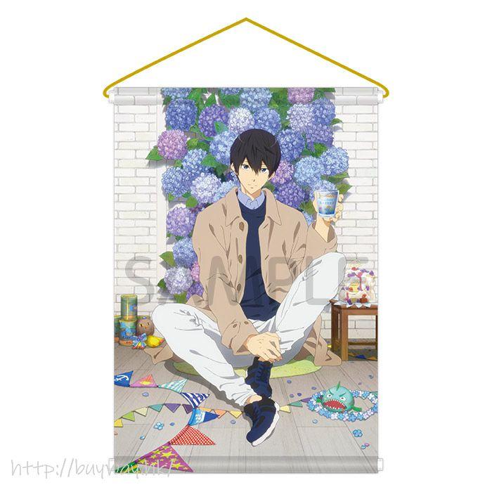 Free! 熱血自由式 「七瀬遙」掛布 Link up Smile! BD Tapestry Link up Smile! BD Nanase Haruka【Free!】