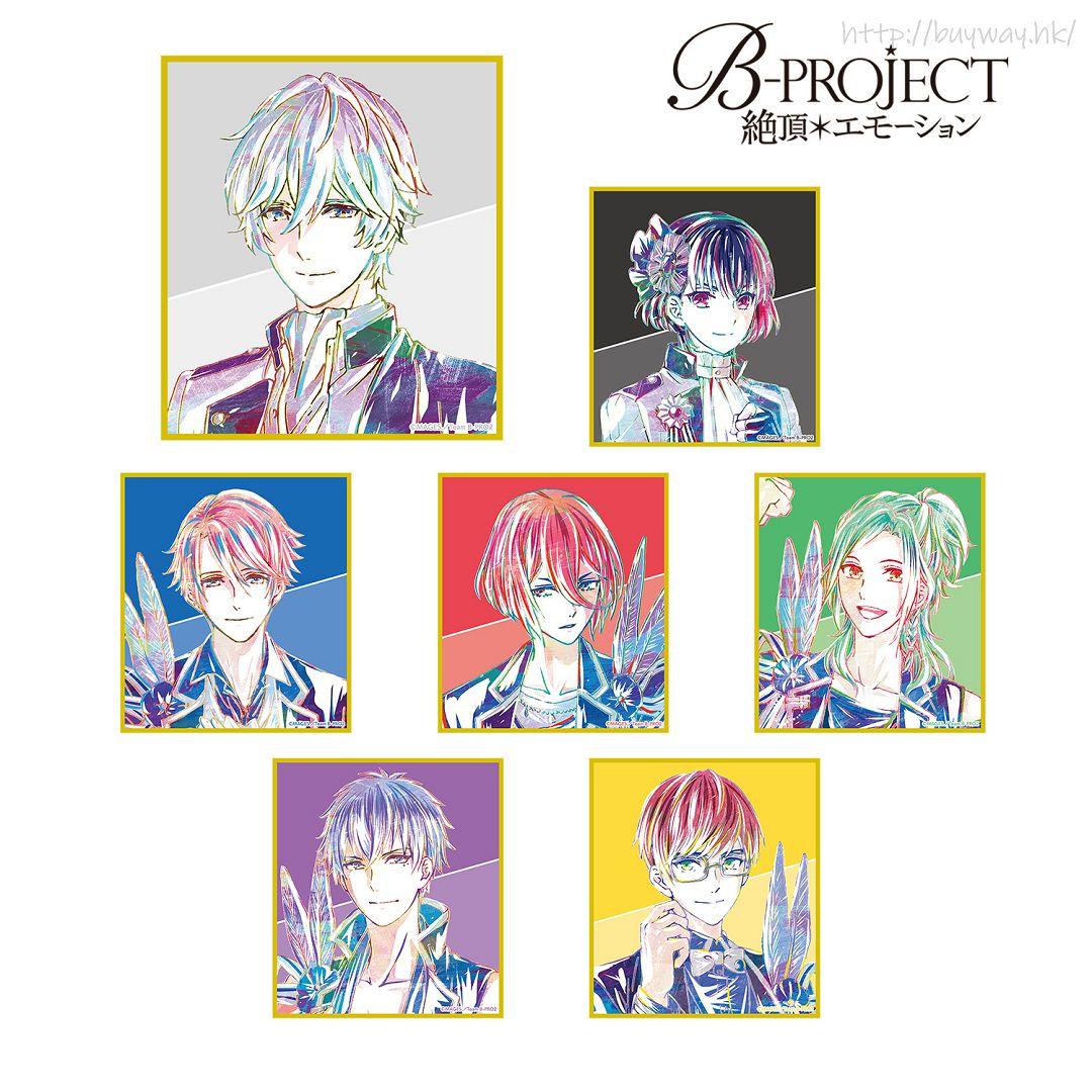 BPROJECT Ani-Art 色紙 Box A (7 個入) Ani-Art Shikishi Ver. A (7 Pieces)【B-PROJECT】