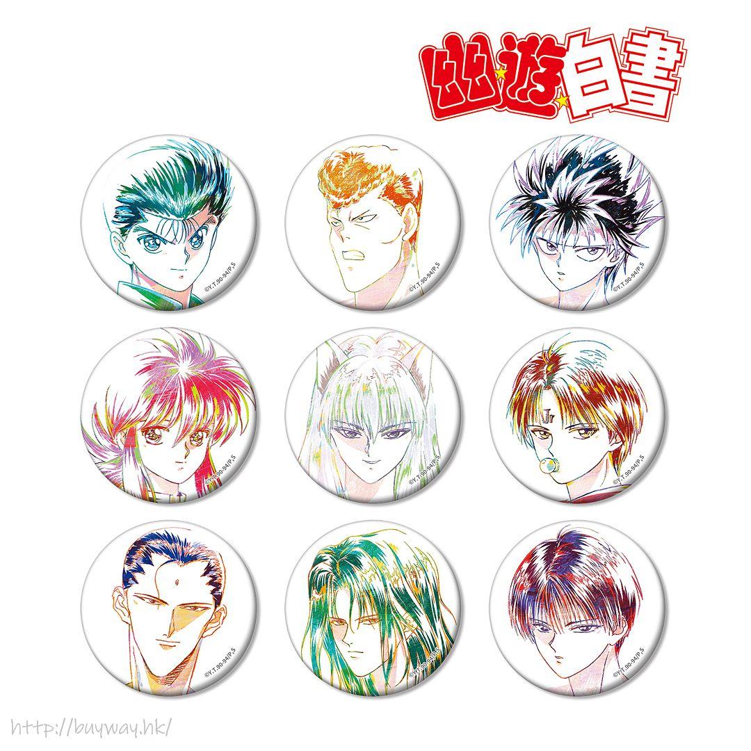 幽遊白書 Ani-Art 收藏徽章 Vol.3 (9 個入) Ani-Art Can Badge Vol. 3 (9 Pieces)【YuYu Hakusho】