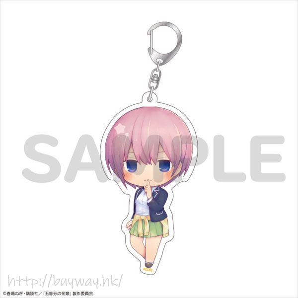 五等分的新娘 「中野一花」10cm 亞克力匙扣 Acrylic Keychain Ichika Nakano【The Quintessential Quintuplets】