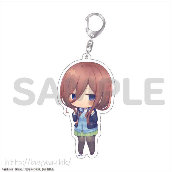 五等分的新娘 「中野三玖」10cm 亞克力匙扣 Acrylic Keychain Miku Nakano【The Quintessential Quintuplets】